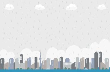 都市 洪水