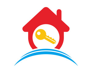 key house housing home residence residential real estate image vector icon