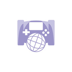 World Game Logo icon Design