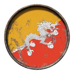 Old Bhutan flag
