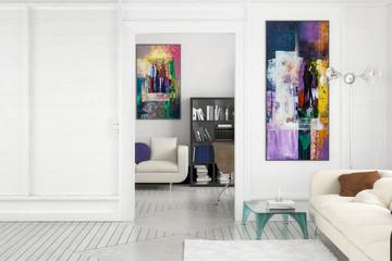Projekt Einer Apartment Einrichtung (Gestaltung)