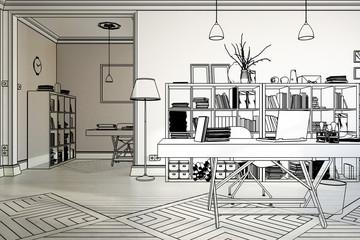 Neugestaltung im Büro (Vorschau)