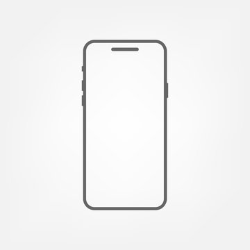 Smartphone - vector icon