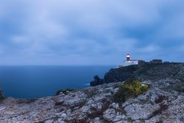 Panorama of St. Vincente Lighthouse