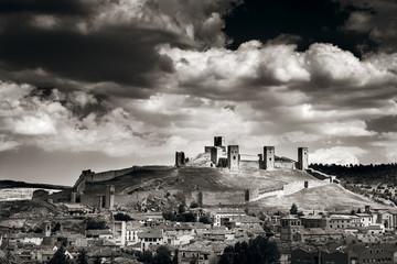 stormy clouds at Molina de Aragon,Spain