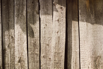 Background of old wooden planks. Wood background texture.