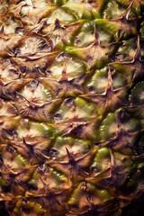 Pineapple close up