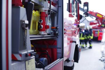 Feuerwehreinsatz, Feuerwehrmänner