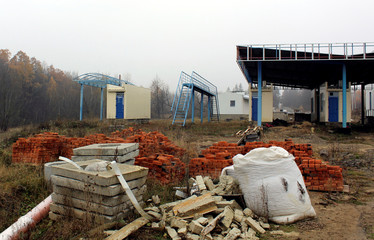 A view shows the Krasnoilsk border crossing