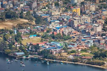 Pokhara; Nepal, View on Lakeside