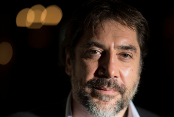 Javier Bardem poses for a portrait after a reuters TV-Interview in Berlin