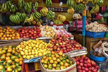 Fruit and Vegetable Market, Pokhara; Nepal