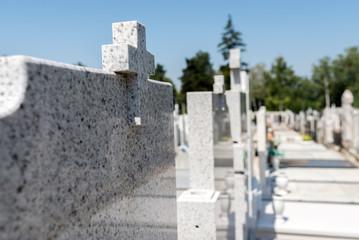 Cemetery Gravestones