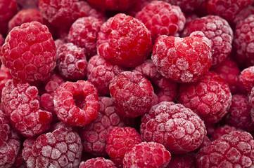 many fresh frozen raspberries