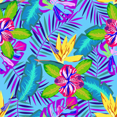 tropical abstract pattern