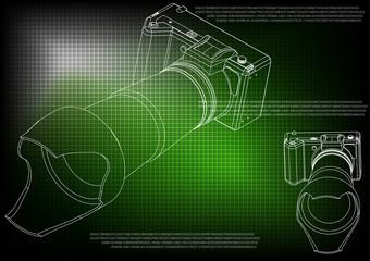 3d model of the camera