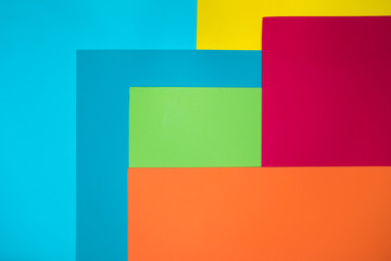 texture of background, paper pattern of green yellow blue pink red orange