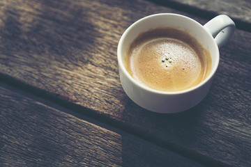 black coffee for the morning good day