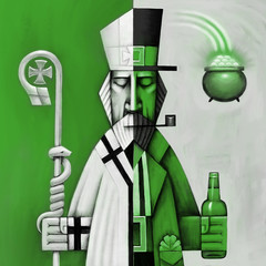 Two Faces of Saint Patrick's Day
