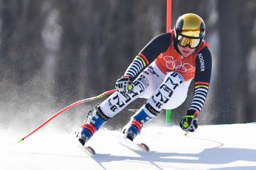 Olympics: Alpine Skiing-Ladies Downhill Training
