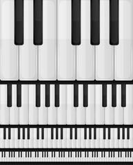 Piano Keyboard Seamless Background