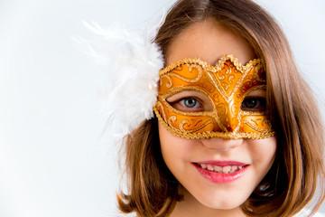 Girl masquerade party