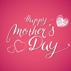 Handwritten Happy Mothers Day