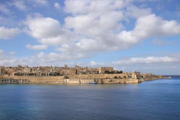 Valletta, Malta, View from Birgu