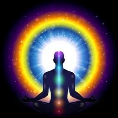 Meditation Man Chakra
