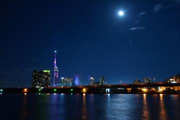 福岡市の夜景 Japan Hukuoka Night View