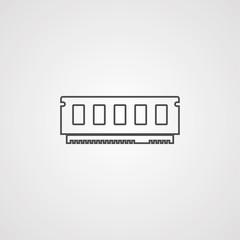 Ram memory icon