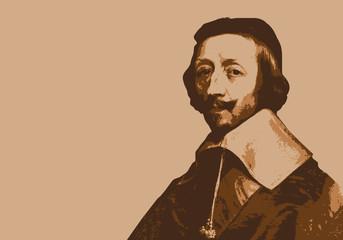 Richelieu - portrait - personnage historique - personnage célèbre - Cardinal - histoire