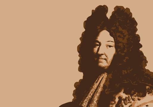 Louis XIV - portrait - roi de France - personnage historique - personnage célèbre - histoire