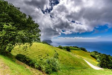 Azoreninsel Sao Miguel Küstenlandschaft