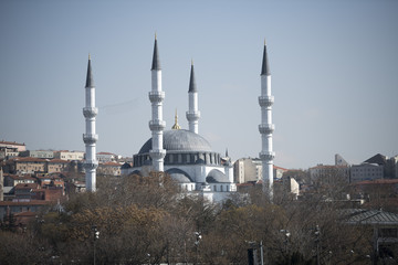 Ankara Mosque Building