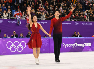 Olympics: Figure Skating-Ice Dance Free Dance