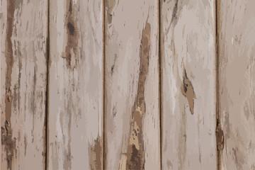Wood texture background - Vector