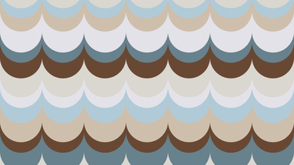 fashionable, wavy, geometric background in shades of Emperador for interior, design, advertising, screensaver, walls
