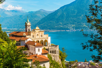 Madonna del Sasso Church, Locarno, Switzerland