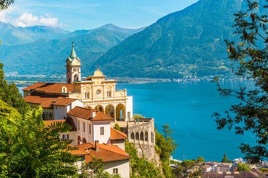 Madonna del Sasso Church, Locarno, Switzerland