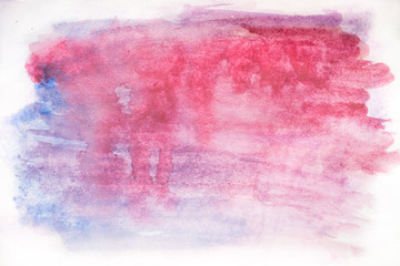 Background watercolor, purple color. bright purple watercolor stains