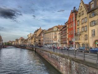 Strasbourg cityscape