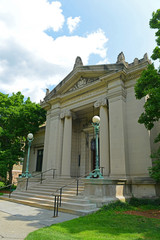 John Carter Brown Library in Brown University, Providence, Rhode Island, USA.