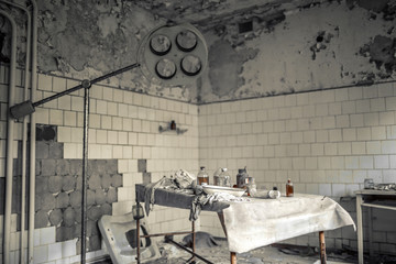 medical station 126 of Pripyat, the operating theater