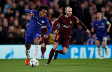 Champions League Round of 16 First Leg - Chelsea vs FC Barcelona