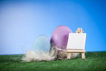 Malowane jajka na wielkanoc