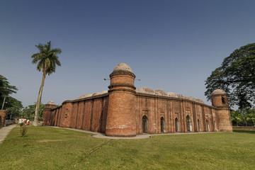 Shait-Gumbad Mosque in Bangladesh
