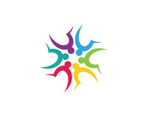 Community care Logo templatE.