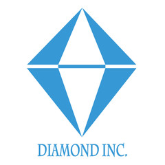 Diamond logo graphic.