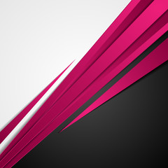 Purple abstract stripes corporate background